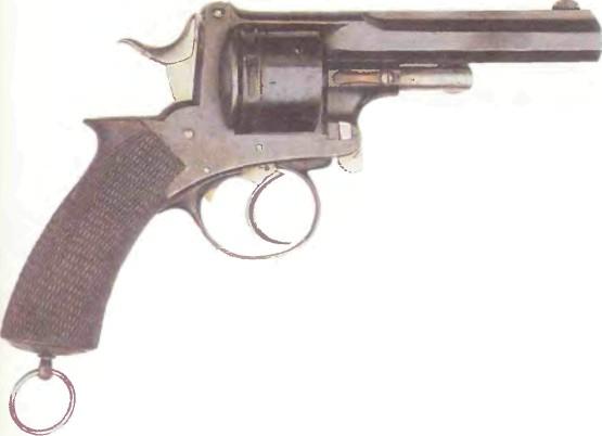Великобритания: револьвер ПЕРЕЛАМЫВАЮЩИЙСЯ №2 - фото, описание, характеристики, история