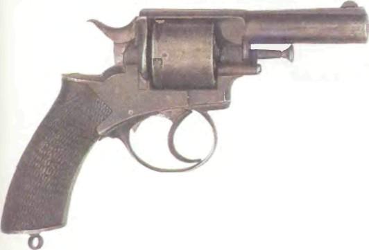 Великобритания: револьвер БУЛЬДОГ - фото, описание, характеристики, история