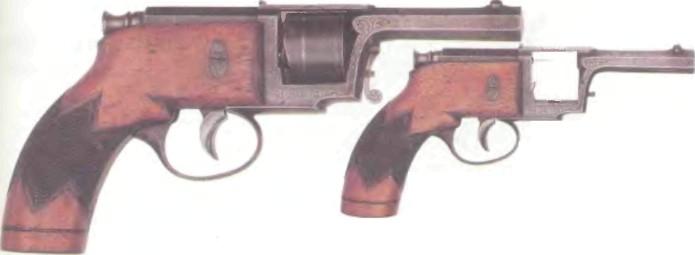 Германия: револьвер ИГОЛЬЧАТЫЙ РЕВОЛЬВЕР КЮФАЛЯ - фото, описание, характеристики, история