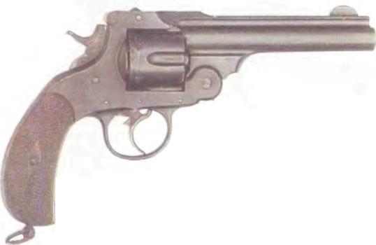 Испания: револьвер АРАНСАБАЛЬ ЗЙБАР - фото, описание, характеристики, история