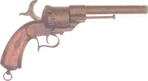 Испания: револьвер ШПИЛЕЧНЫЙ РЕВОЛЬВЕР АРРИАБАН - фото, описание, характеристики, история