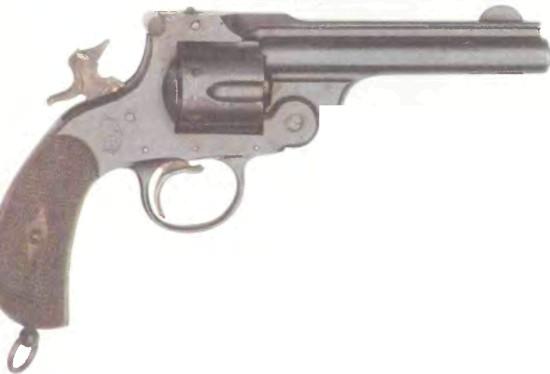 Испания: револьвер ТРОКАОЛА - фото, описание, характеристики, история