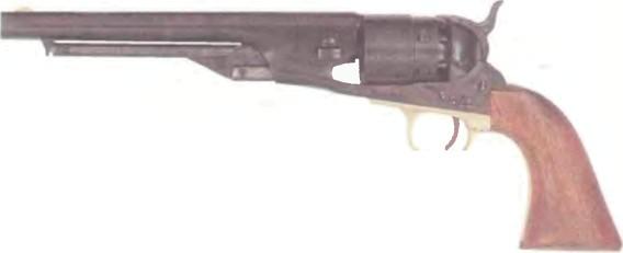 Италия: револьвер АРМИ САН МАРКО КОЛЬТ, модель 1860 - фото, описание, характеристики, история