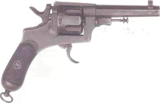 Италия: револьвер БОДЕО, М0ДЕЛЬ 1889 - фото, описание, характеристики, история