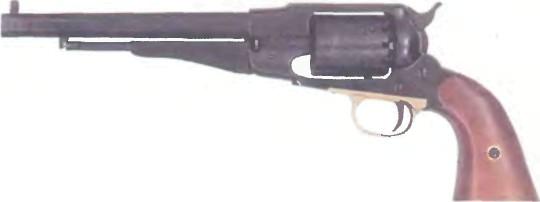 Италия: револьвер КАПСЮЛЬНЫЙ РЕВОЛЬВЕР УБЕРТИ - фото, описание, характеристики, история