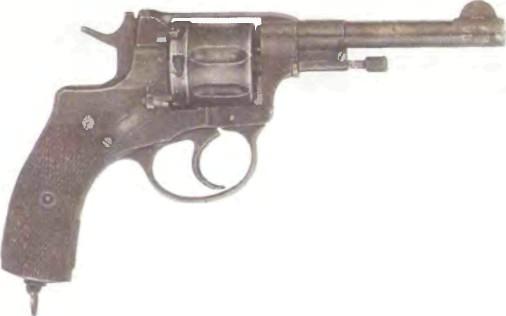 Россия: револьвер НАГАН Обр. 1895 г. - фото, описание, характеристики, история