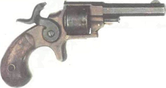 США: револьвер КАРМАННЫЙ РЕВОЛЬВЕР ЭТАНА АЛЛЕНА - фото, описание, характеристики, история