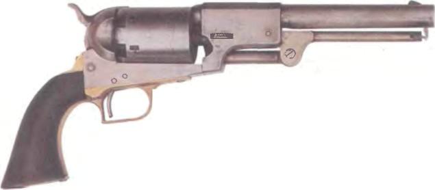 США: револьвер КОЛЬТ ДРАГУН, модель 1849 - фото, описание, характеристики, история