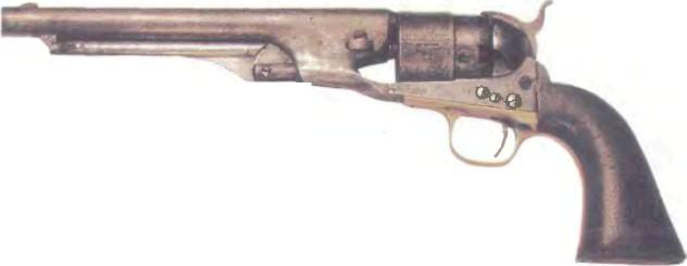 США: револьвер АРМЕЙСКИЙ РЕВОЛЬВЕР КОЛЬТ модель 1860 - фото, описание, характеристики, история