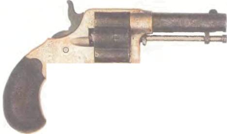 США: револьвер КОЛЬТ ХАУС ПИСТОЛ - фото, описание, характеристики, история