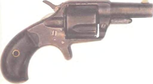 США: револьвер КАРМАННЫЙ КОЛЬТ НЬЮ ЛАЙН калибр 41 - фото, описание, характеристики, история