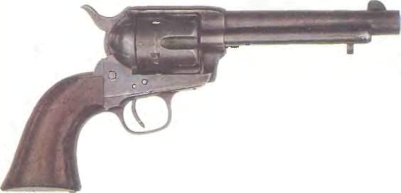 США: револьвер КОЛЬТ АРМИ ОДИНАРНОГО ДЕЙСТВИЯ - фото, описание, характеристики, история