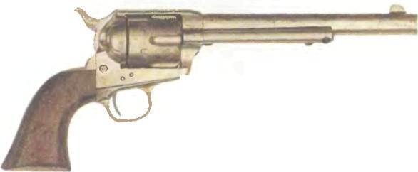 США: револьвер КОЛЬТ АРМИ ОДИНАРНОГО ДЕЙСТВИЯ №2 - фото, описание, характеристики, история