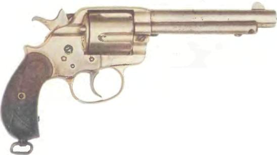США: револьвер КОЛЬТ АРМИ ДВОЙНОГО ДЕЙСТВИЯ - фото, описание, характеристики, история