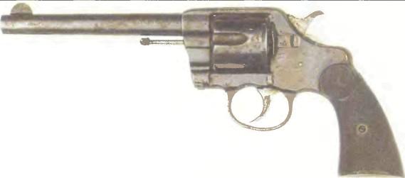 США: револьвер КОЛЬТ НЬЮ НЭВИ, М1895 - фото, описание, характеристики, история