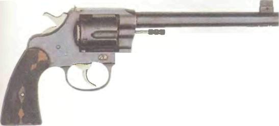 США: револьвер ЦЕЛЕВОЙ РЕВОЛЬВЕР КОЛЬТ НЬЮ СЕРВИС - фото, описание, характеристики, история