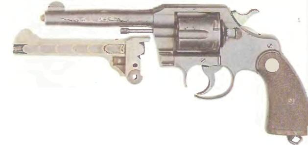 США: револьвер КОЛЬТ ОФИШЕЛ ПОЛИС (поврежденный) - фото, описание, характеристики, история