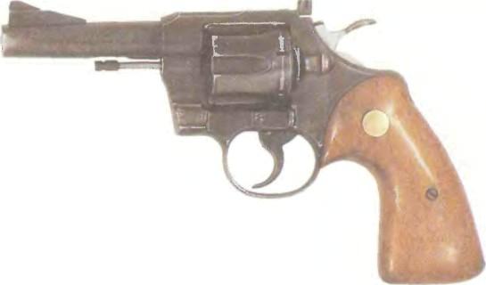 США: револьвер КОЛЬТ ТРУПЕР КАЛИБРА 22 - фото, описание, характеристики, история