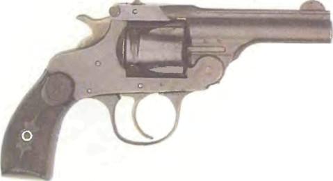 США: револьвер ГОПКИНС И АЛЛЕН ФОРХЭНД - фото, описание, характеристики, история