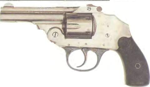 США: револьвер БЕСКУРКОВЫЙ АЙВЕРА ДЖОНСОНА - фото, описание, характеристики, история