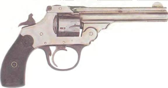 США: револьвер АЙВЕРА ДЖОНСОНА ДВОЙНОГО ДЕЙСТВИЯ - фото, описание, характеристики, история