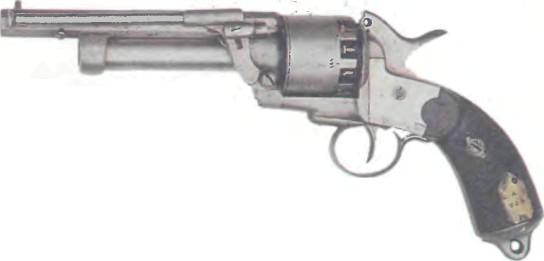США: револьвер ЛЕ МА - фото, описание, характеристики, история
