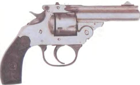 США: револьвер КАРМАННЫЙ РЕВОЛЬВЕР МЕРИДЕН - фото, описание, характеристики, история