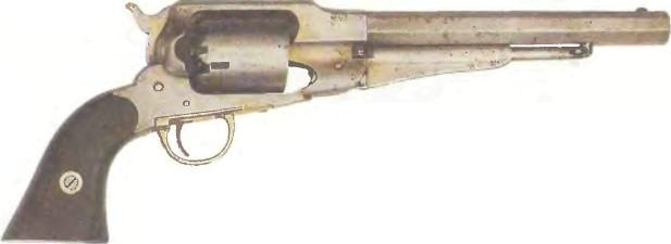 США: револьвер РЕМИНГТОН, МОДЕЛЬ 1863 - фото, описание, характеристики, история