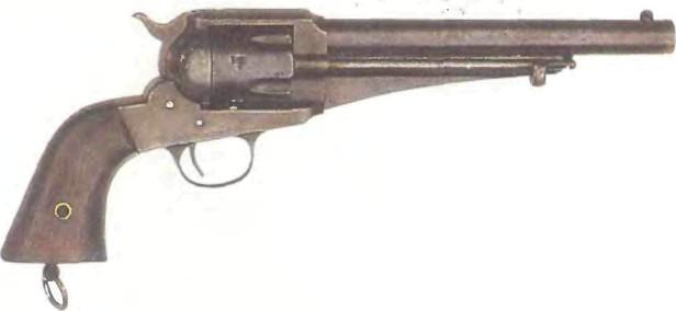 США: револьвер РЕМИНГТОН, МОДЕЛЬ 1875 - фото, описание, характеристики, история