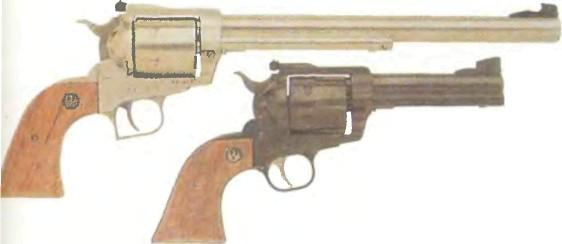 США: револьвер БЛЭКХОК, НОВАЯ МОДЕЛЬ/СУПЕР БЛЭКХОК - фото, описание, характеристики, история
