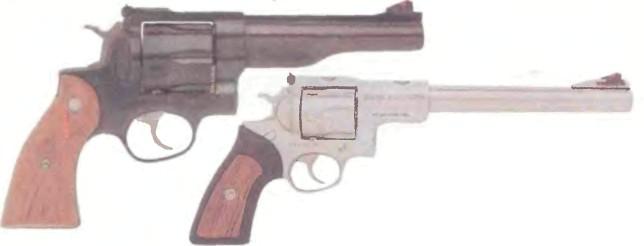 США: револьвер РУГЕР РЕДХОК/СУПЕР РЕДХОК - фото, описание, характеристики, история