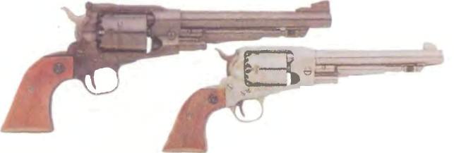США: револьвер КАПСЮЛЬНЫЙ РЕВОЛЬВЕР РУГЕР ОЛД АРМИ - фото, описание, характеристики, история