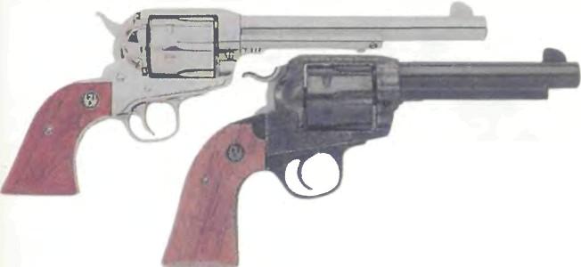 США: револьвер РУГЕР ВАГУЭРО - фото, описание, характеристики, история