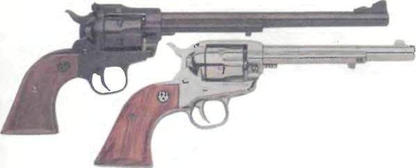 США: револьвер РУГЕР, НОВАЯ МОДЕЛЬ СУПЕР СИНГЛ-СИКС - фото, описание, характеристики, история