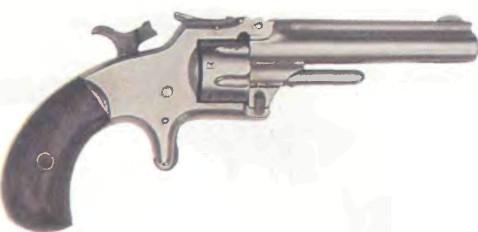 США: револьвер СМИТ-ВЕССОН, размыкающийся вверх - фото, описание, характеристики, история