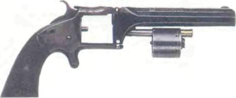 США: револьвер СМИТ-ВЕССОН №2 - фото, описание, характеристики, история