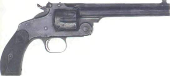 США: револьвер СМИТ-ВЕССОН, новая модель № 3 калибра .32 - фото, описание, характеристики, история