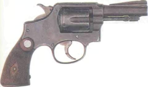США: револьвер СМИТ-ВЕССОН МИЛИТЭРИ ЭНД ПОЛИС, первая модель (укороченный) - фото, описание, история