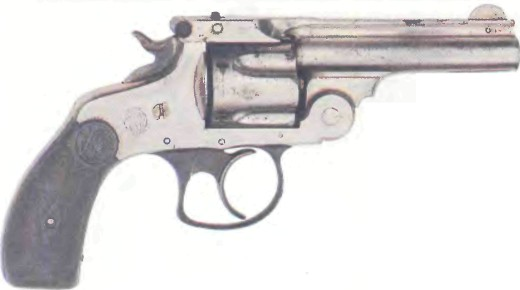 США: револьвер СМИТ ВЕССОН, НОВАЯ МОДЕЛЬ КАЛИБРА .38 - фото, описание, характеристики, история