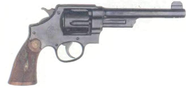 США: револьвер СМИТ- ВЕССОН НЬЮ СЕНЧУРИ - фото, описание, характеристики, история