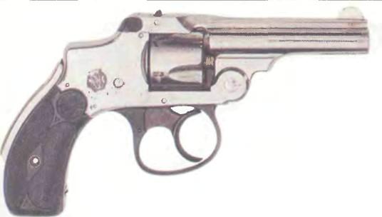 США: револьвер СМИТ-ВЕССОН С ПРЕДОХРАНИТЕЛЕМ (вторая и третья модели) - фото, описание, история