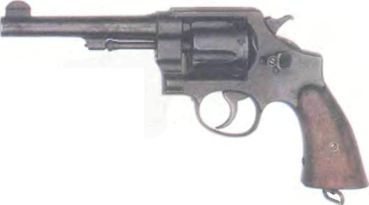 США: револьвер СМИТ-ВЕССОН М1917 - фото, описание, характеристики, история