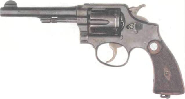 США: револьвер СМИТ ВЕССОН БРИТИШ СЕРВИС - фото, описание, характеристики, история