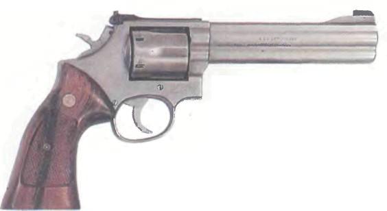 США: револьвер СМИТЫ-ВЕССОНЫ, модели 586/686 - фото, описание, характеристики, история