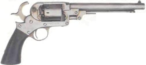 США: револьвер СТАРР - фото, описание, характеристики, история