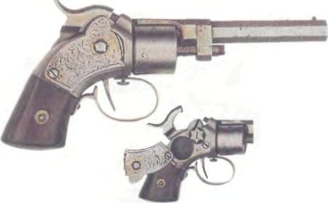 США: револьвер С ОГНЕПРОВОДНОЙ ЛЕНТОЙ ВЕССОН-ЛИВИТТ - фото, описание, характеристики, история