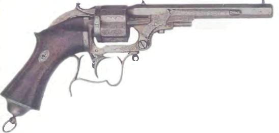 Франция: револьвер ДЕВИМ - фото, описание, характеристики, история
