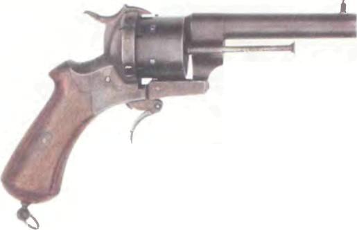 Франция: револьвер ШПИЛЕЧНЫЙ ЛЕФОШЕ - фото, описание, характеристики, история