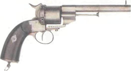 Франция: револьвер МОРСКОЙ ЛЕФОШЕ - фото, описание, характеристики, история