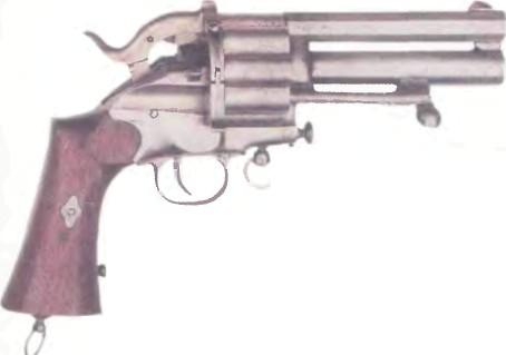 Франция: револьвер ЛЕ MA - фото, описание, характеристики, история